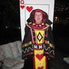 The Living Playing Card - The Queen of Hearts